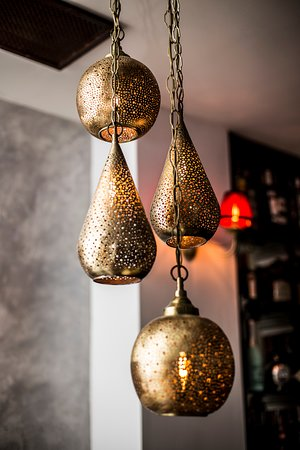 Handcrafted Moroccan lamps