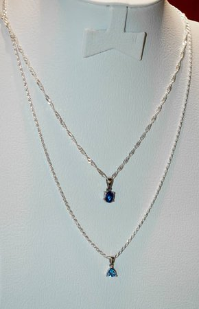 Tanzanite top quality pendents set in 925 Silver