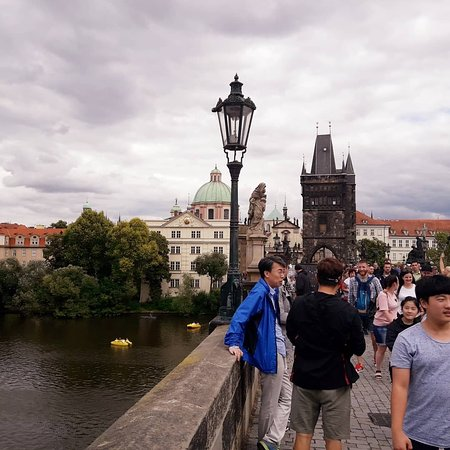 The Magical Charles Bridge at Prague, Czech Republic.