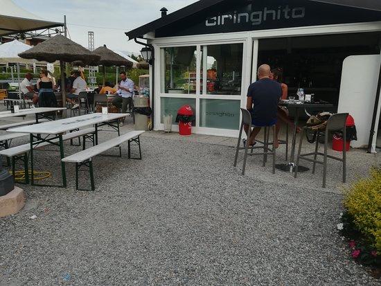 Toscolano-Maderno, Italien: BAR CIRINGHITO