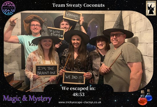 Tricky Escape Clacton: We escaped the magic and mystery room
