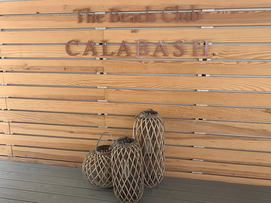 Calabash Luxury Boutique Hotel: The Beach Club at Calabash.