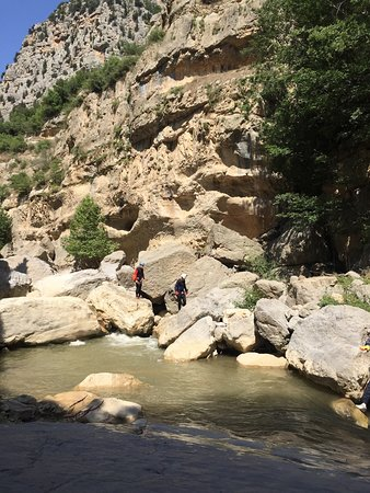 Canyoning in Iran