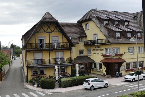 Battenheim, ฝรั่งเศส: Dejlige Hotel Au Cheval Blanc