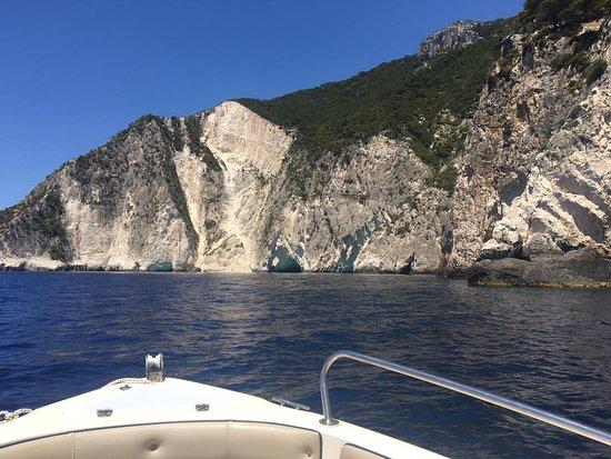 Zante boat trip