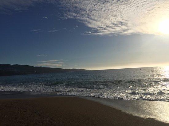 Laguna Verde, Chile: La playa