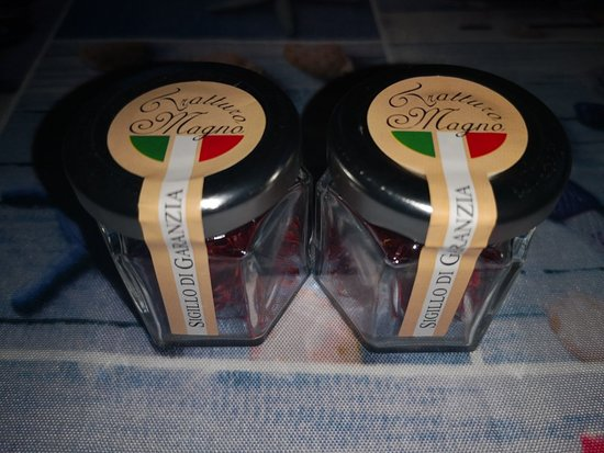Civitaretenga, إيطاليا: Due grammi di zafferano puro