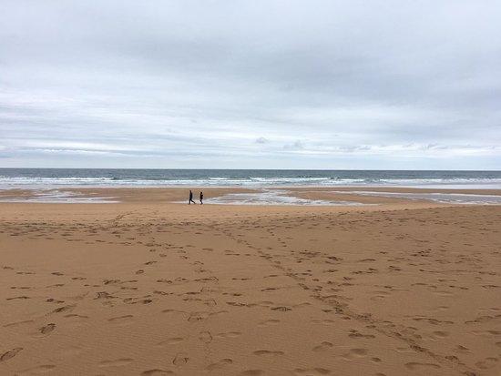 Beach of Rodiles : -----