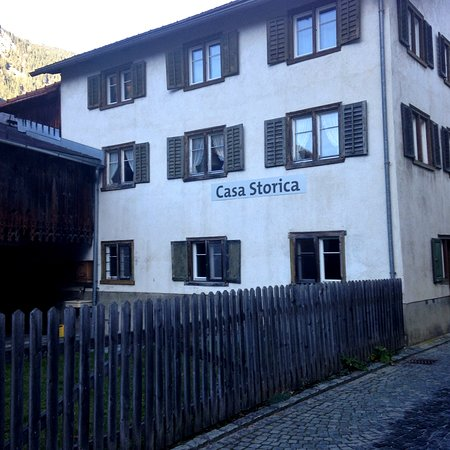 Andeer, Schweiz: Every day we were there we'd walk by this building to see if it was open or anyone was home. Never got to go inside but did meet Erwin Dirnberger who had so much history to share with us.