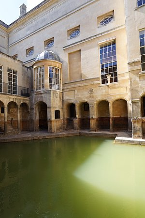 Another view of the ancient pool