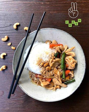 Brisbane, Australien: Chicken Cashew