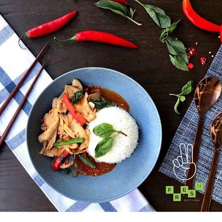 Brisbane, Australien: Stir Fry Basil Chilli