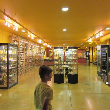 National Mustard Museum: Tons of jars from all over the world!
