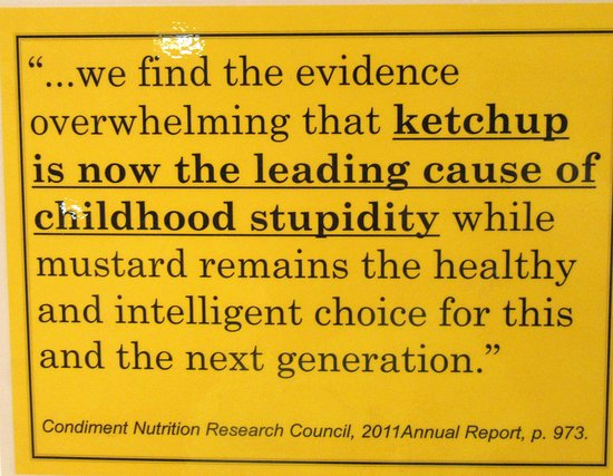 National Mustard Museum: Cute sayings abound
