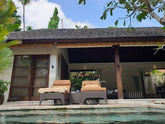 Close To The New Cafe Del Mar Picture Of Villa Bali Asri Seminyak Tripadvisor