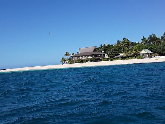 Thunder Boats Fiji: Guest can have lunch at the famous Beachcomber Island