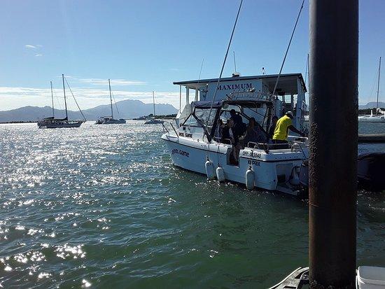 Thunder Boats Fiji: She is ready to move