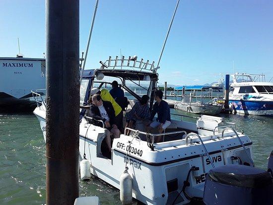 Thunder Boats Fiji: Well planed day ahead