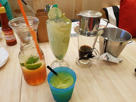 So Pho (IMM): Drinks we ordered