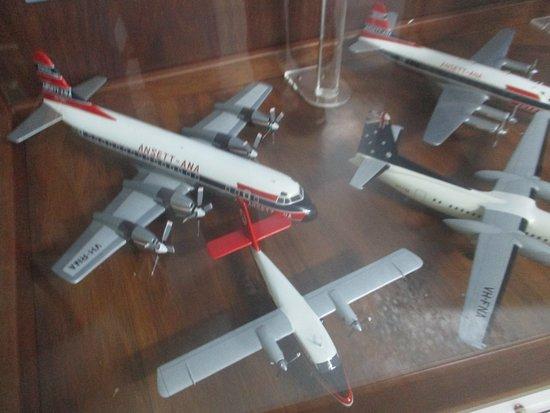 Sir Reginald Ansett Transport Museum: Model Planes