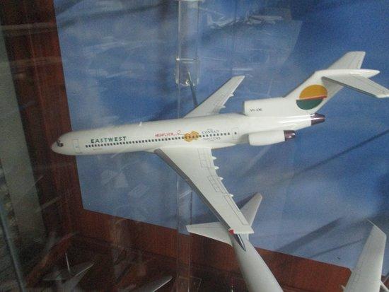 Sir Reginald Ansett Transport Museum: Model Plane
