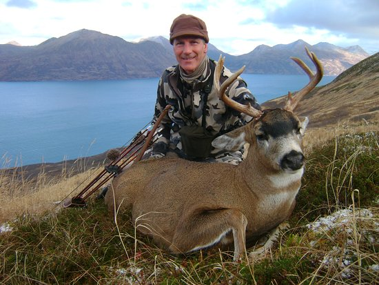 Homer Ocean Charters: Sitka Black Tail Deer Hunt in Kodiak in the Fall