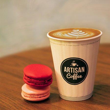 Artisan Coffee - Cascavelle: Coffee & Macarons
