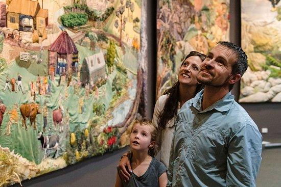 Deloraine, Australien: Yarns Artwork in Silk