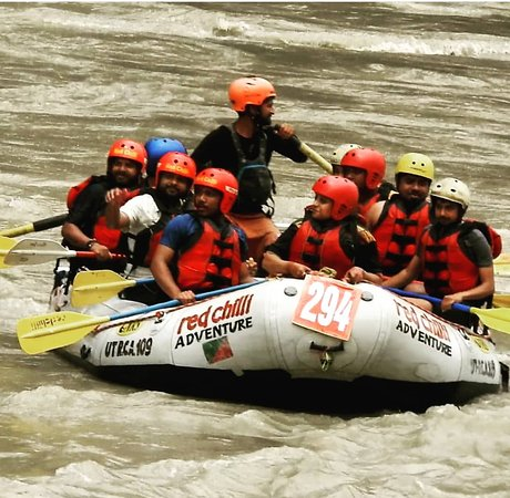 Rafting in Rishikesh- 16km: at golf course