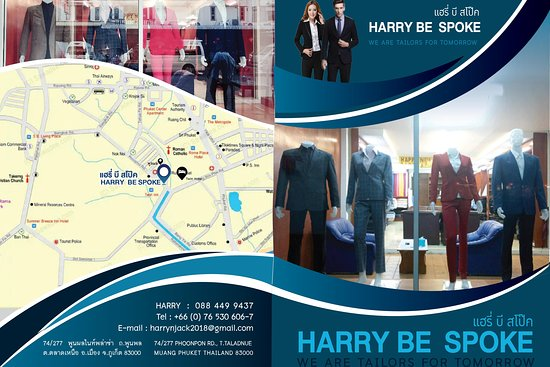HARRY BE SPOKE TAILORS