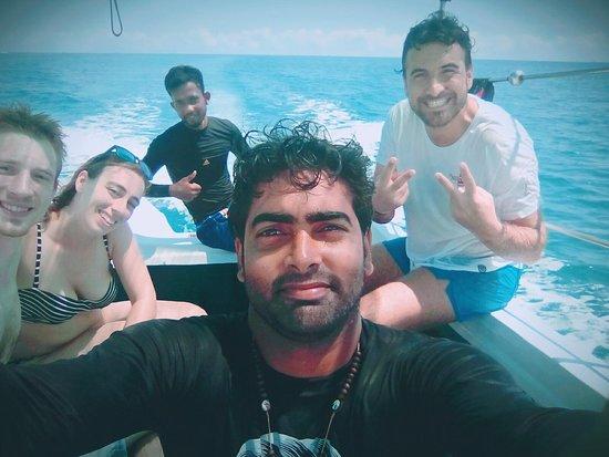 Passikudah tourism boat service