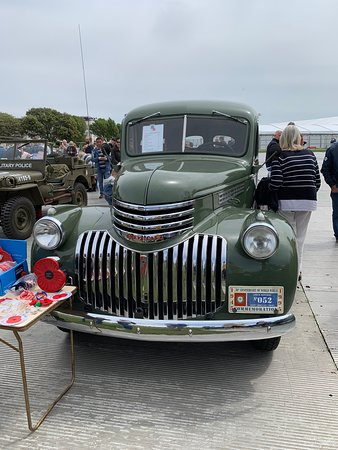 An impressive Chevrolet at the final day of events for DDay 75 in Portsmouth