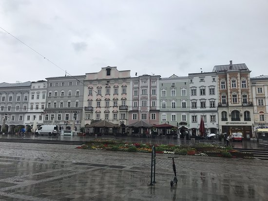 Hauptplatz: Edifícios da Praça