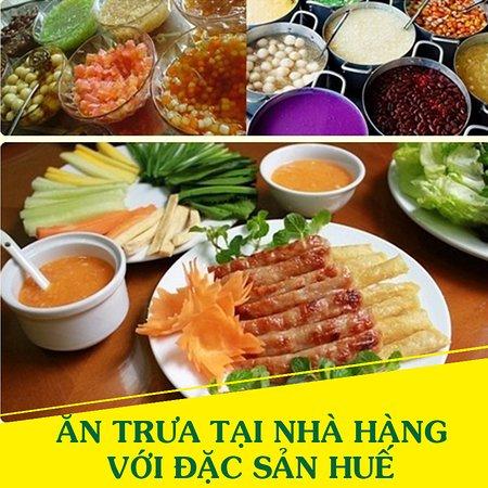 Hué, Vietnam : 12:30 PM – Quý khách ăn trưa tại nhà hàng với đặc sản Huế.