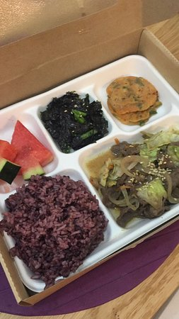 Our signature - beef bulgogi  lunch set