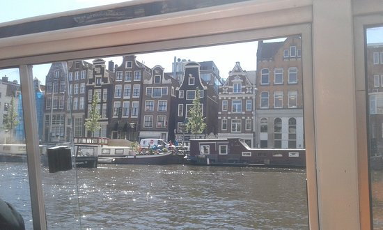 Amsterdam, The Netherlands: Lovers Canal Cruise, the dancing houses