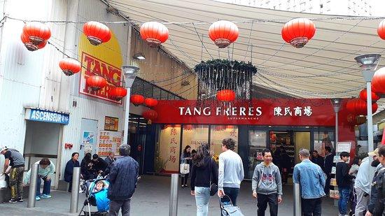 Entrée du magasin chinois