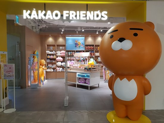 KAKAO Friends Store - Lotte Young Plaza Myeongdong
