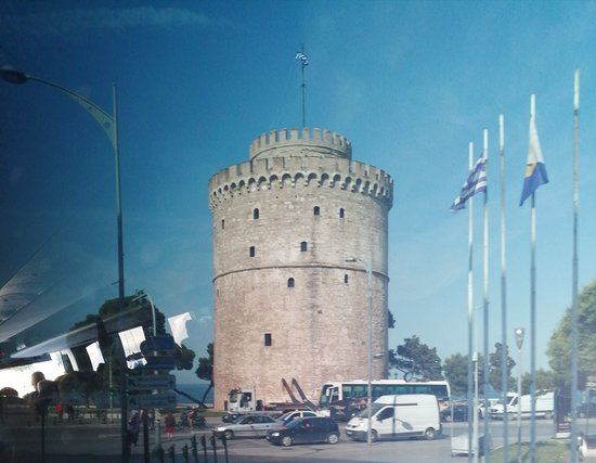 Thessaloniki, Greece: The  Blood  Tower now k own as the White Tower
