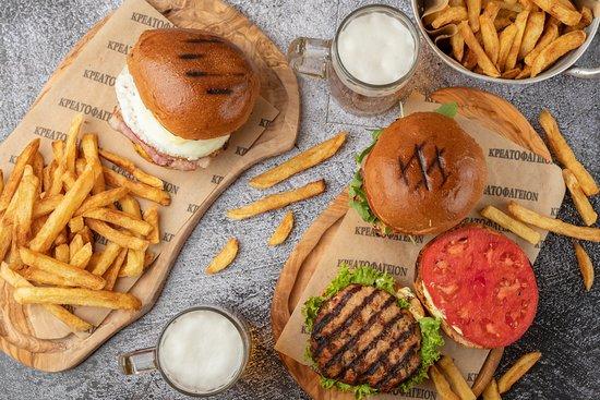 Kreatofageion: Burgers Palette