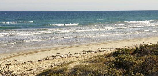 The Granites Kingston SE   beach north of the Granites