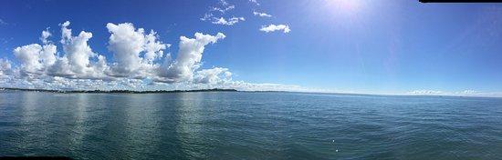 sailing on Moreton Bay