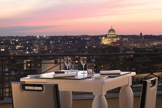 The Flair Rooftop Restaurant Rome Centro Menu Prices