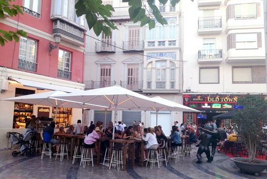 nuestra terraza en plaza uncibay