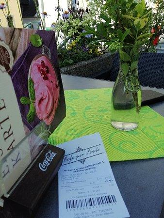 Frühstück im Café zur Linde in Persenbeug-Gottsdorf