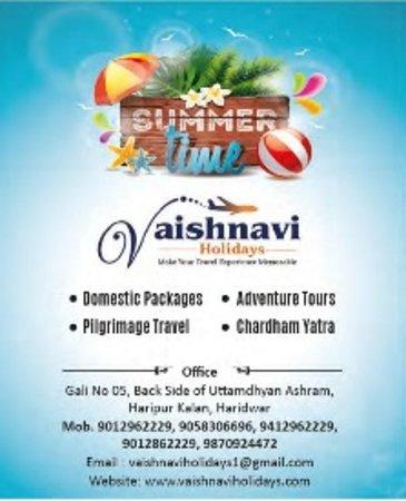 Vaishnavi Holidays Providing Chardham Yatra Tour Package from Haridwar, Delhi and Dehradun.