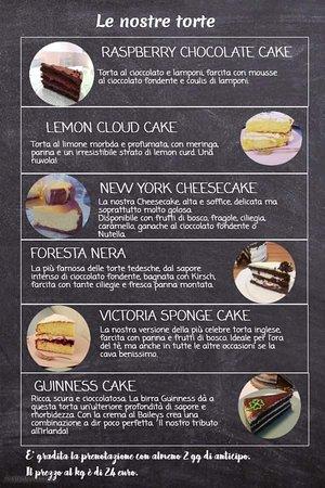 Il nostro menu delle torte (parte 2)