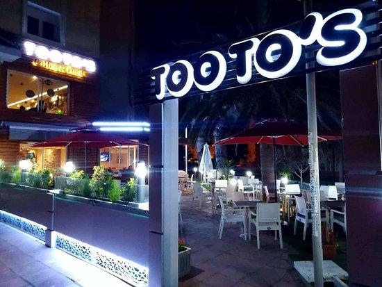 Ezzahra, Tunezja: Tooto's - Coffee & Food
