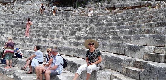 Albanien: Butrinti - Amfiteatr