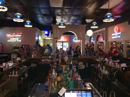 A bar. - Review of Outlook Sports Bar, Venice, FL - TripAdvisor